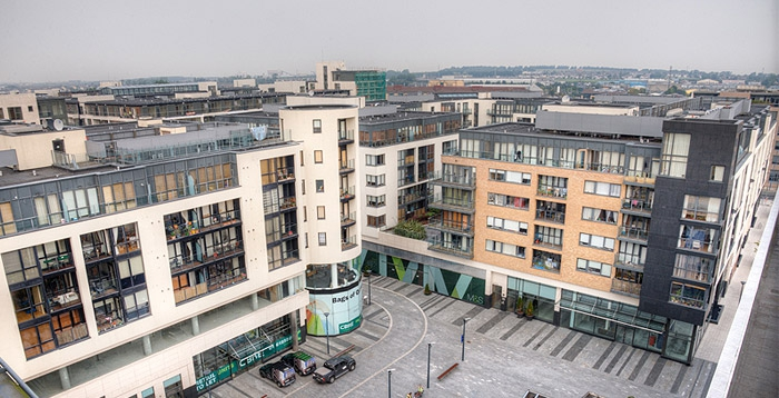 Tallaght East city view